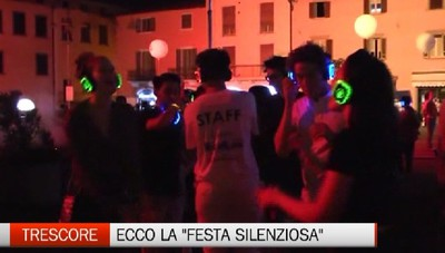 Il fenomeno dell'estate: a Trescore il silent party