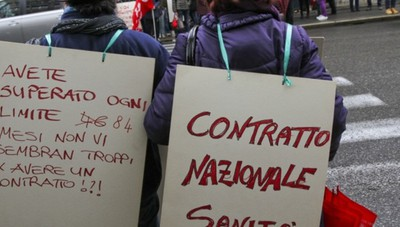 Sanità privata, martedì in sciopero Da 13 anni lavoratori senza contratto