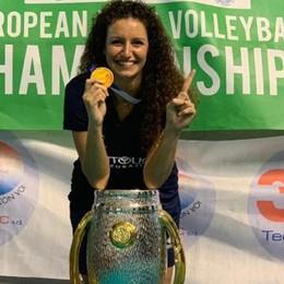 Volley sordi, Italia sul tetto d'Europa La bergamasca Galbusera protagonista