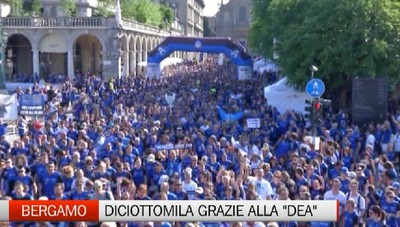 Bergamo - La Camminata dei record