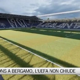 Champions a Bergamo, l'Uefa non chiude le porte all'Atalanta