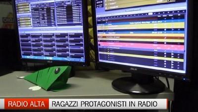 Giovani protagonisti di Radio Alta (con Radioimmaginaria)