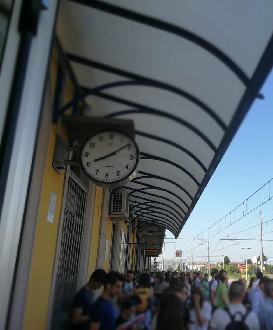Caos nelle stazioni
