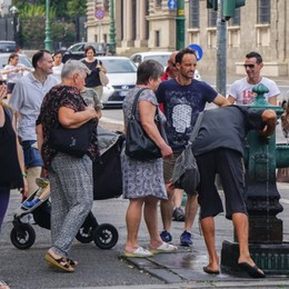 Bergamo, l'estate scalda i motori  Da Ats un numero verde  anti-caldo