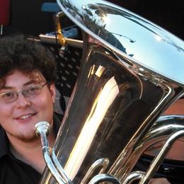 Matteo da Verdello a San Pietroburgo Con la sua tuba al concorso Cajkovskij