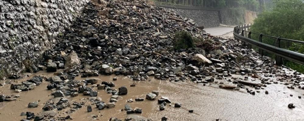 Val di Scalve, riaperta la via Mala Era chiusa per una frana