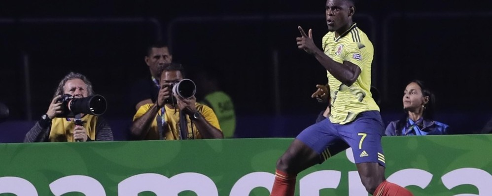 Zapata goleador anche in Coppa America Per i tifosi nerazzurri un punto fermo