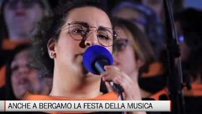 Bergamo - La città ha celebrato le sette note