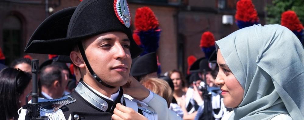 Carabinieri, giura il musulmano Badar Da Chiuduno per coronare il suo sogno