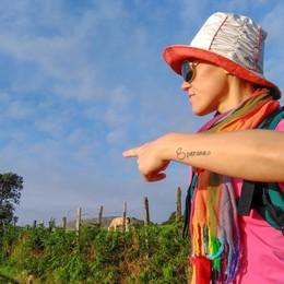 Daniela, dalla depressione alla «Speranza» Attraverso il cammino di Santiago