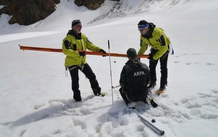 Un «tesoro bianco» contro la siccità Nei ghiacciai lombardi riserve record