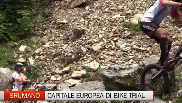 Brumano: il più piccolo comune orobico diventa capitale europea di bike Trial