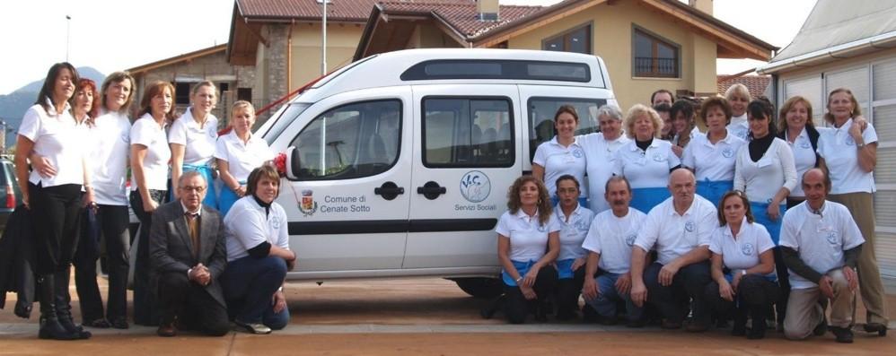 Cenate, rubato il furgone per i disabili  Ladri senza scrupoli e volontari beffati
