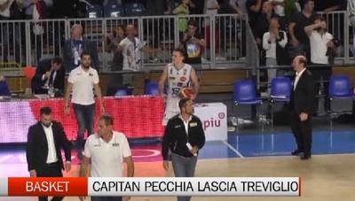 Basket, capitan Pecchia lascia Treviglio