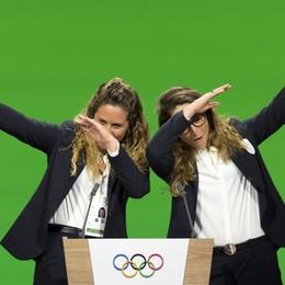 Olimpiadi 2026 a Milano-Cortina Ecco il discorso di  Sofia e Michela - Video