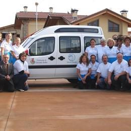 Ritrovato il furgone per disabili Cenate, la felicità dei volontari