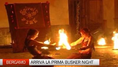 Artisti di strada sabato notte illumineranno Bergamo