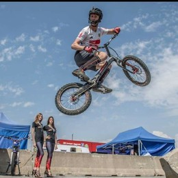 Brumano, capitale europea del Bike Trial