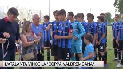 Dossena, l'Atalanta vince la Coppa Valbrembana