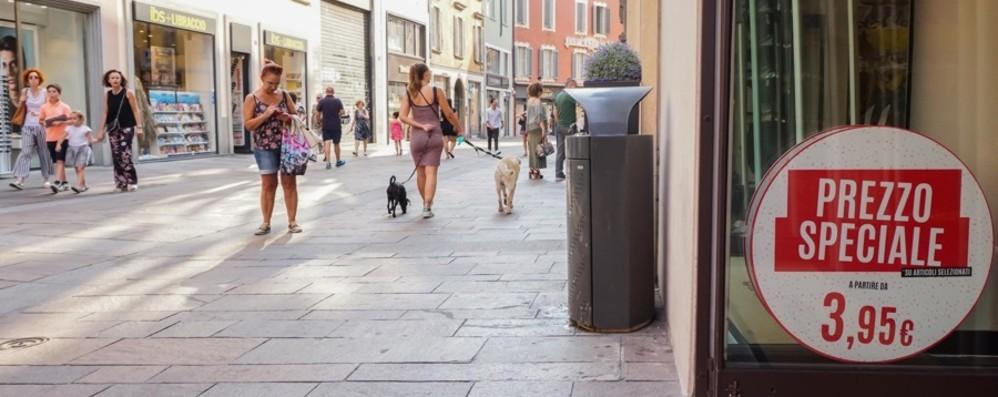 Saldi estivi, ci siamo quasi Dal 6 luglio attivi anche a Bergamo