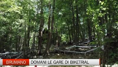 Tutto pronto a Brumano per gli europei di BikeTrial