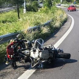 In contromano sull'Asse interurbano Seriate, muore motociclista  di 76 anni