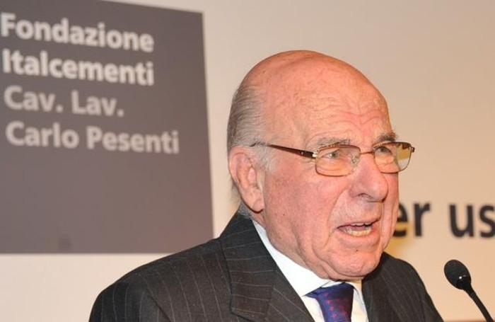 Giovanni Giavazzi, presidente della Fondazione Carlo Pesenti, in uno scatto del 2011