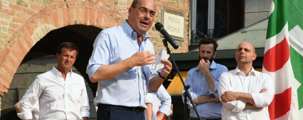Romano, Zingaretti tira la volata a Nicoli Sfida aperta con Natali per il 9 giugno
