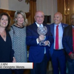 Coppa Quarenghi, premiato Adriano Galliani