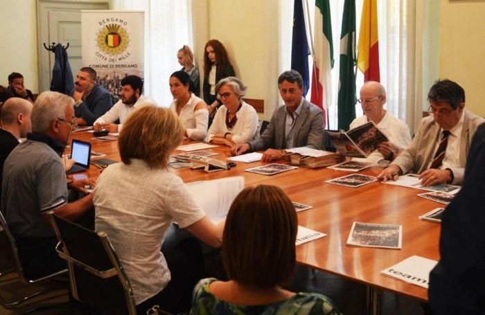 La presentazione dell'evento oggi, giovedì 6 giugno, a Palazzo Frizzoni