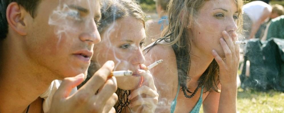 Tabacco e giovani in Bergamasca Crescono i consumi tra i 15 e i 19 anni