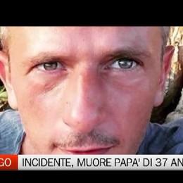 Pedrengo - Papà di 37 anni muore in incidente