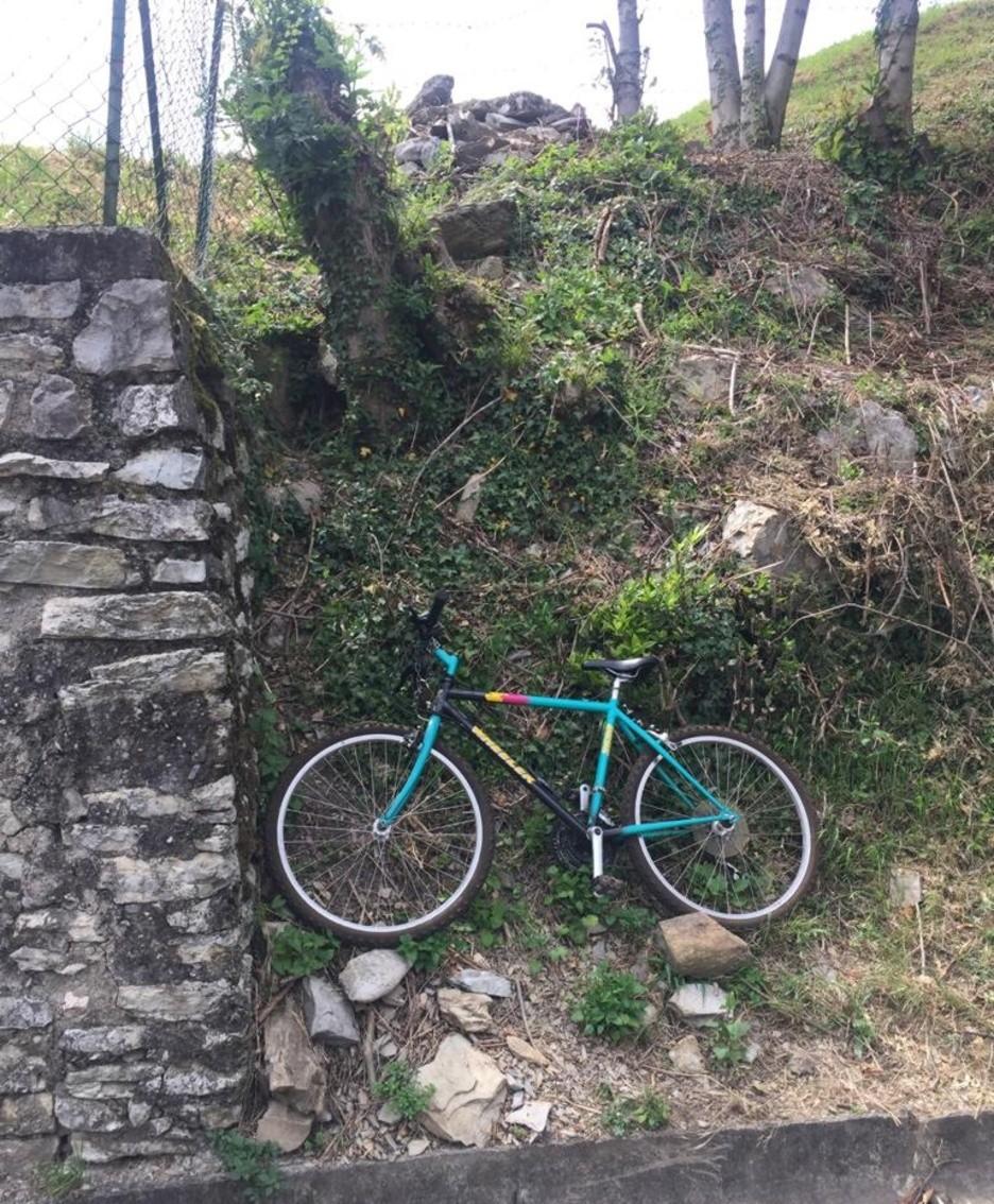 La bici di Zanchi