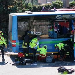 Gazzaniga: scontro tra bus, studente morì Chiesti 12 anni in abbreviato per l'autista