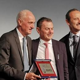 L'Atalanta è «eccellenza del lavoro» Confindustria premia  Percassi