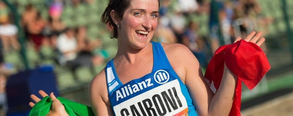 Martina Caironi da record nel lungo Il video del salto da 5 metri