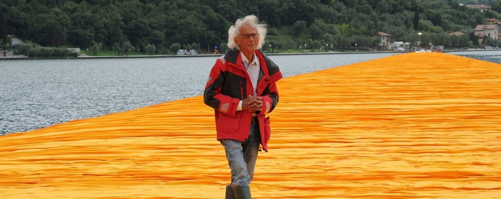 The Floating Piers ora al cinema Un film sull'impresa di Christo