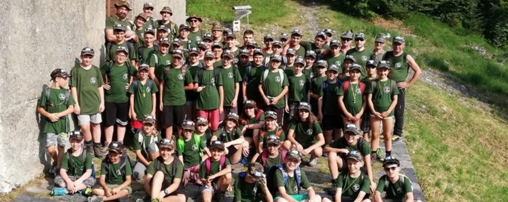 Alta Val Brembana, piccoli alpini crescono A Cusio boom di iscritti - Foto