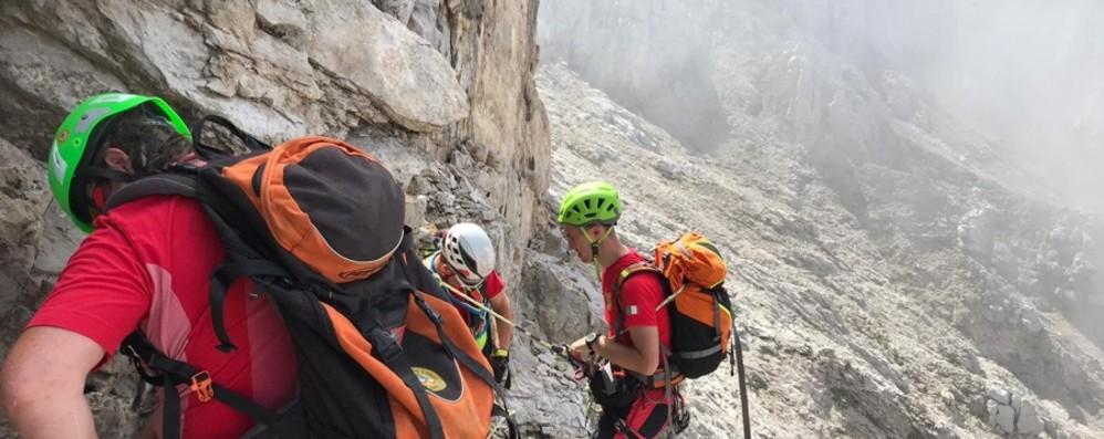 Soccorsi in montagna, in Lombardia picco di richieste d'aiuto nel weekend