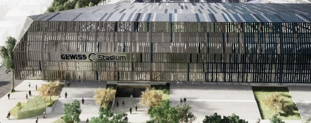 Stadio, da oggi è «Gewiss Stadium» Due pagine su «L'Eco» di oggi