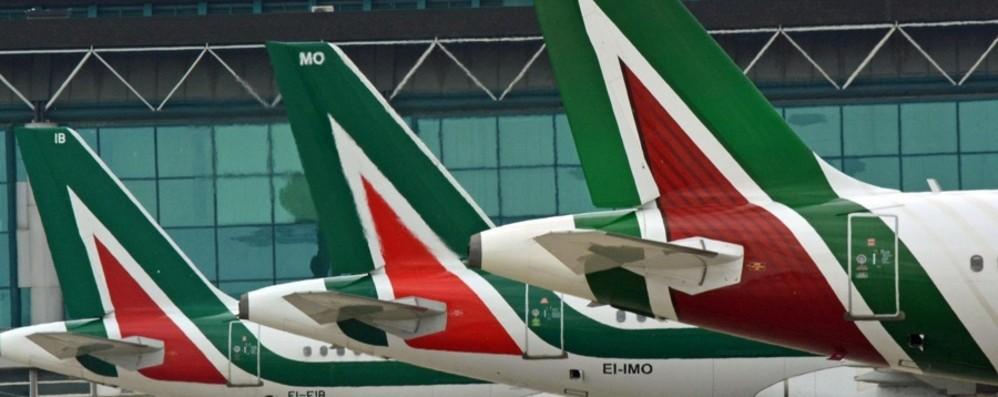A Orio tutto pronto per l'arrivo di Alitalia «Fiduciosi che i voli restino in autunno»