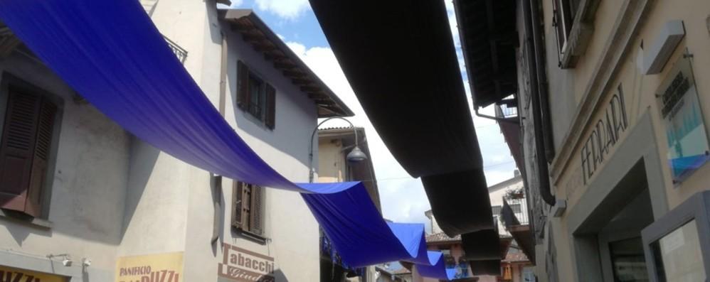 Clusone è la «casa» dell'Atalanta Anche il mercato si veste di nerazzurro