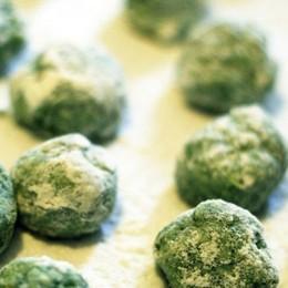 I «malfatti» agli spinaci