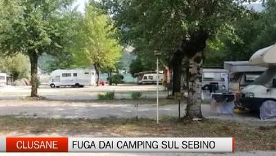 Sebino: camping ormai quasi vuoti