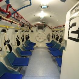 11enne intossicata da monossido In camera iperbarica d'urgenza a Zingonia