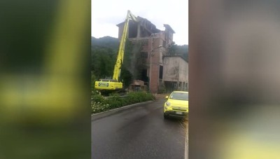 Giù la vecchia fornace di Cisano