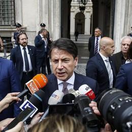 Il governo litiga Scena a Salvini