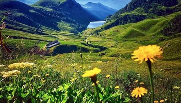 «Quanto è bella la montagna...»