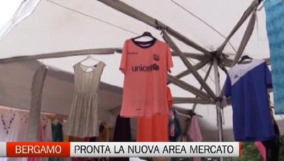 Via Spino: è pronta l'area che ospiterà il mercato cirradino.