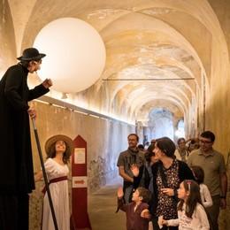 Visite guidate teatrali  all'ex monastero del Carmine